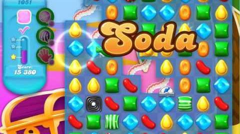 Candy Crush Soda Saga Level 1051 (buffed, 3 Stars)