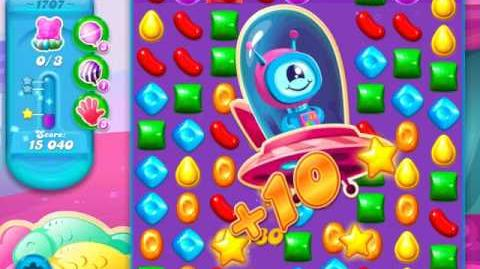 Candy Crush Soda Saga Level 1707
