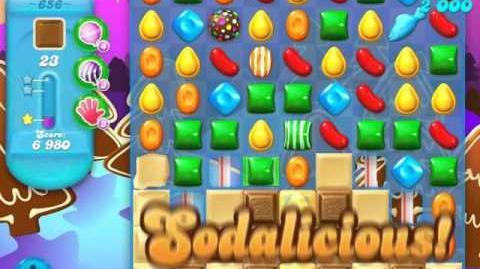 Candy Crush Soda Saga Level 656 (buffed, 3 Stars)