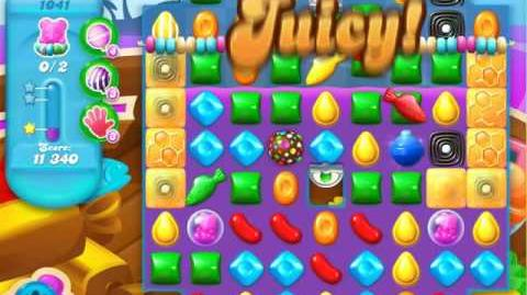 Candy Crush Soda Saga Level 1041 (4th version)