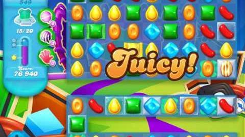 Candy Crush Soda Saga Level 549 (buffed, 3 Stars) (20 bears)