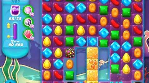 Candy Crush Soda Saga Level 1105 (3 Stars)