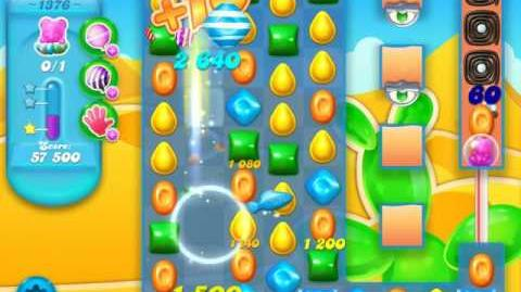 Candy Crush Soda Saga Level 1376 (3 Stars)