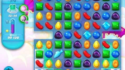 Candy Crush Soda Saga Level 370 (nerfed, 3 Stars)