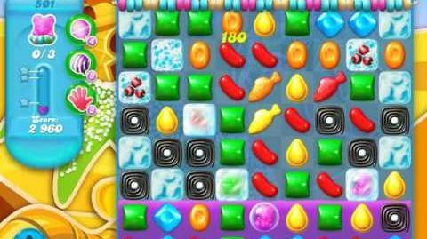 Candy Crush Soda Saga Level 501 (8th version, 3 Stars)