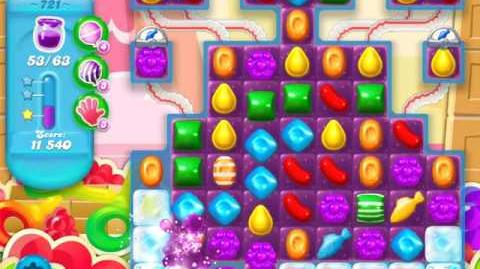 Candy Crush Soda Saga Level 721 (2nd buffed)