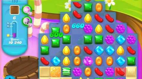 Candy Crush Soda Saga Level 133 (4th version, 3 Stars)
