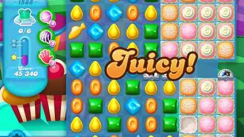 Candy Crush Soda Saga Level 1588 (5th version, 3 Stars)