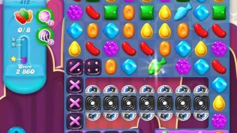 Candy Crush Soda Saga Level 412 (3 Stars)