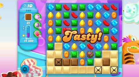 Candy Crush Soda Saga - Level 205 - No boosters ☆☆☆