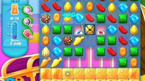 Candy Crush Soda Saga Level 1046 (nerfed, 3 Stars)
