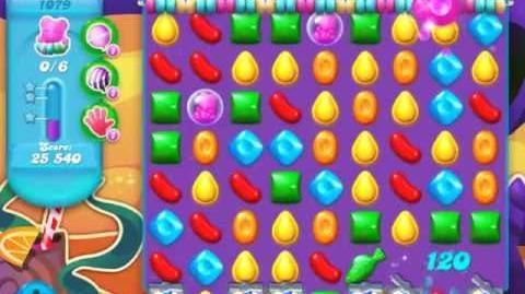 Candy Crush Soda Saga Level 1079 - NO BOOSTERS