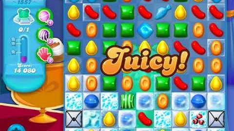 Candy Crush Soda Saga Level 1557 (2nd buffed)