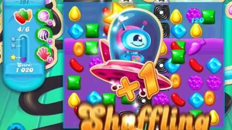 Candy Crush Soda Saga Level 191 (2nd version, 3 Stars)