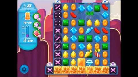 Candy Crush Soda Saga Level 420 (7th version, 3 Stars)