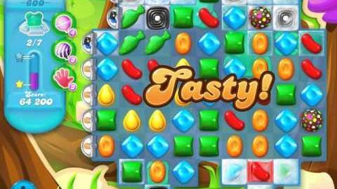 Candy Crush Soda Saga Level 600 (2nd nerfed, 3 Stars)