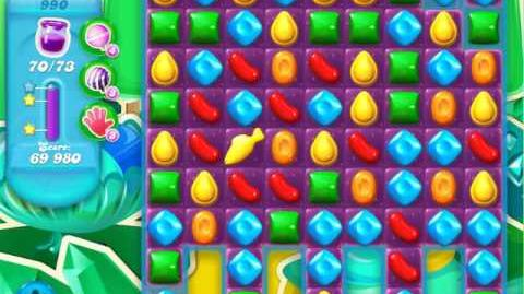 Candy Crush Soda Saga Level 990 (2nd nerfed, 3 Stars)