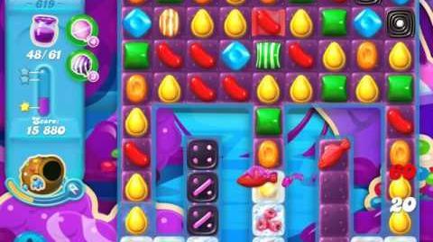 Candy Crush Soda Saga Level 619 (3 Stars)