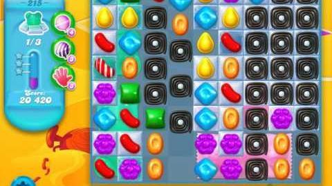 Candy Crush Soda Saga Level 215 (2nd version)