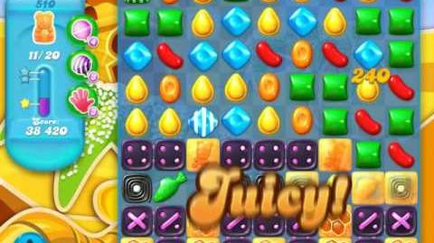 Candy Crush Soda Saga Level 510 (7th version)