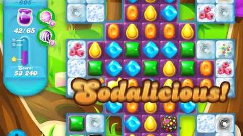 Candy Crush Soda Saga Level 605 (3 Stars)