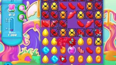 Candy Crush Soda Saga Level 81 (2nd version, 3 Stars)