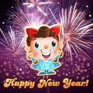 Kimmy Happy New Year 2018!