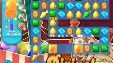 Candy Crush Soda Saga Level 1157 (nerfed, 3 Stars)