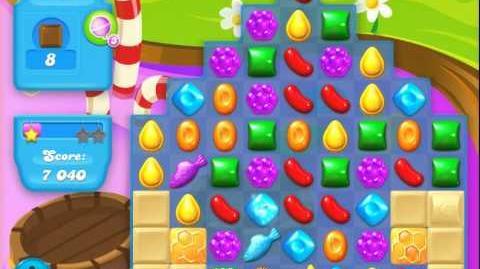 Candy Crush Soda Saga Level 133 (buffed, 3 Stars)