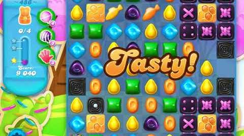 Candy Crush Soda Saga Level 486 (5th version)