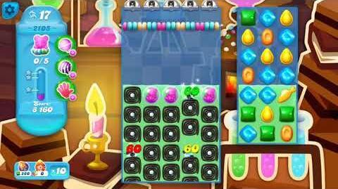 Candy Crush Soda Saga Level 2105