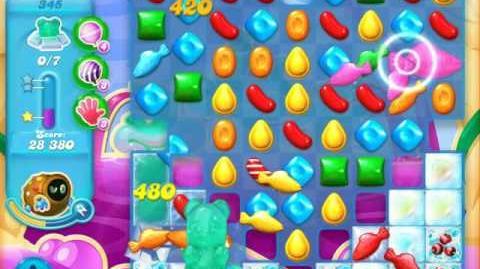 Candy Crush Soda Saga Level 345 (5th version)
