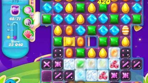 Candy Crush Soda Saga Level 579 (buffed)