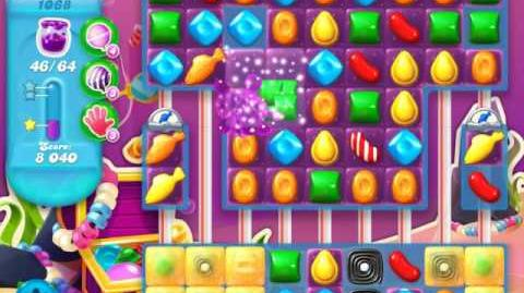 Candy Crush Soda Saga Level 1068 (buffed)