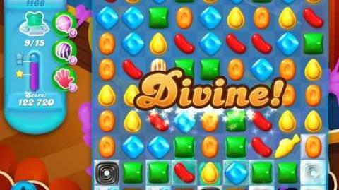 Candy Crush Soda Saga Level 1168 (4th version, 3 Stars)