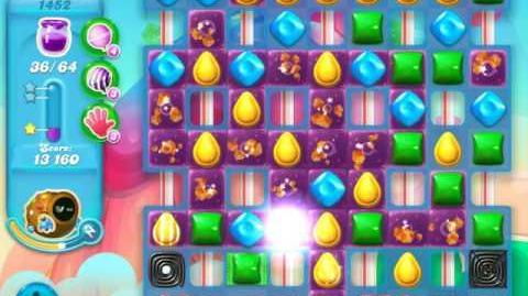 Candy Crush Soda Saga Level 1452 (buffed)