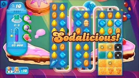 Candy Crush Soda Saga Level 2051