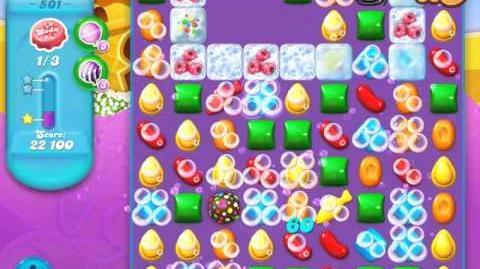 Candy Crush Soda Saga Level 501 (3 Stars)