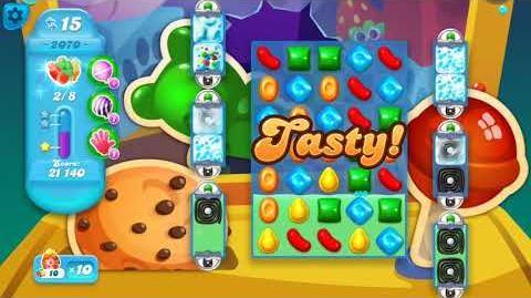 Candy Crush Soda Saga Level 2070