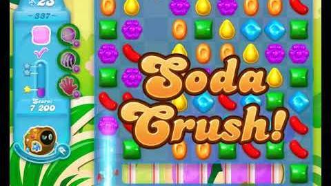 Candy Crush Friends Group SODA Level 337 3Stars Update 291017