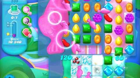 Candy Crush Soda Saga Level 235 (4th version, 3 Stars)