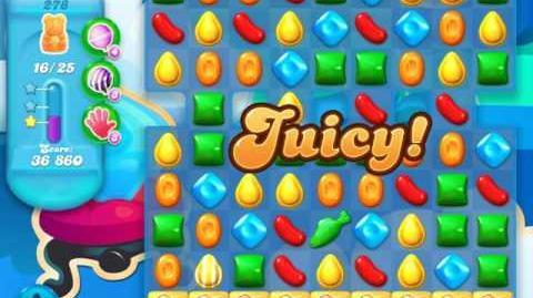 Candy Crush Soda Saga Level 278 (4th version)
