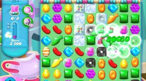 Candy Crush Soda Saga Level 354 (3 Stars)