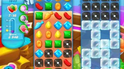 Candy Crush Soda Saga Level 1043 (7th version)