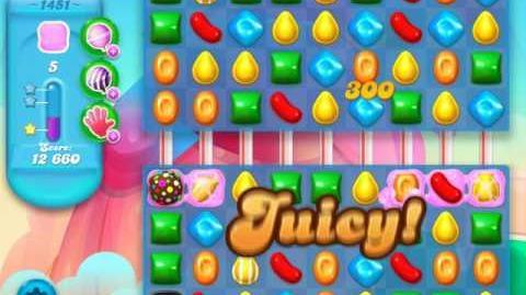 Candy Crush Soda Saga Level 1451 (3 Stars)