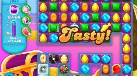 Candy Crush Soda Saga Level 1052 (4th version, 3 Stars)