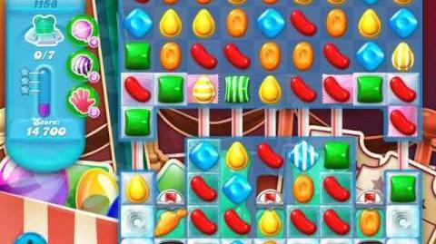 Candy Crush Soda Saga Level 1158 (6th version, 3 Stars)