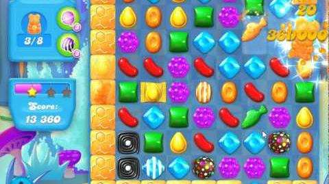 Candy Crush Soda Saga Level 143 (2nd nerfed, 3 Stars)
