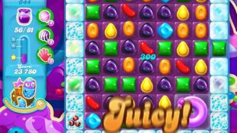 Candy Crush Soda Saga Level 644 (3rd version)