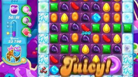 Candy Crush Soda Saga Level 644 (3rd version)